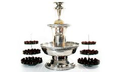 Chocolate Shot Glasses, Chocolate Shots, Belgian Chocolate, Chocolate Cups, Chocolate Fountain Machine, Champagne Fountain, Coffee Punch, Chocolate Fountains, Table Set Up