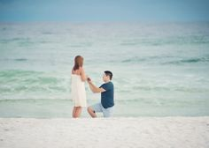 Photographer Captures Mystery Beach Proposal, Uses Facebook to Save the Day// Faith in Humanity restored.
