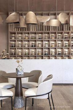Coffee Shop Design, Cafe Design, Restaurant Interior Design, Cafe Interior, Dining Table Chairs, Dining Furniture, Hotel Restaurant, Restaurants, Interior Concept