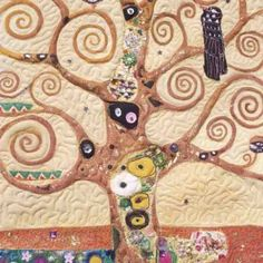 Tree of Life Gustav Klimt Art Quilt Course Liverpool Wed 18th and Thurs 19th S