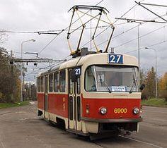 Czech tramcar Tatra T3, 1960