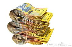 Photo about Australian Money isolated on a white background. Image of exchange, cash, investment - 7598761