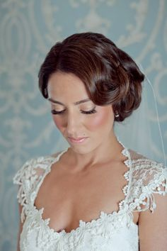 A stunning bridal updo! #weddinghair {Jenifer Rutherford Photography}