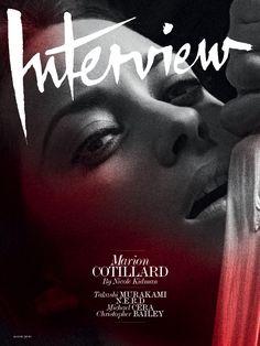 Marion Cotillard - Interview magazine - 2010