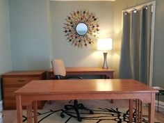 In a previous post I shared with you how I was rearranging/repurposing entire rooms in our fixer upper#2. The office space (formerly the master bedroom) was slowly coming along and I gave you this …