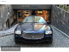 Maserati Quattroporte Executive 2007 MASERATİ QUATTROPORTE EXECUTİVE GT FERMAS ÇIKIŞLI