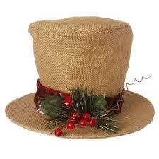 burlap christmas decorations - Google Search