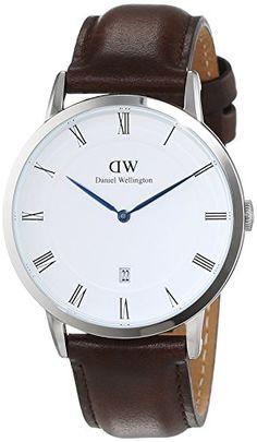 Daniel Wellington Herren-Armbanduhr Analog Quarz Leder 1123DW - http://uhr.haus/daniel-wellington/daniel-wellington-herren-armbanduhr-analog-15