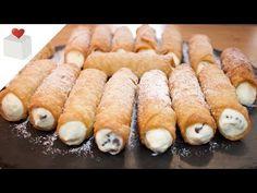 YouTube Cannoli, Valencia, Buddy Valastro, Spanish Desserts, Hot Dog Buns, Bread, Make It Yourself, Donuts, Youtube