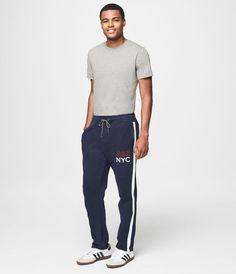 A87 NYC Slim Sweatpants