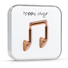 { Dallas Shaw picks: Rose Gold headphones from Happy Plugs }