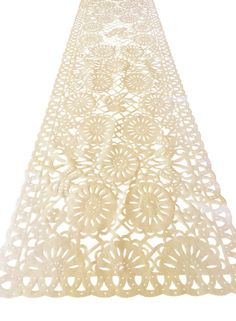 This gorgeous Mexican table runner is made out of fabric but made in a traditional Papel Picado pattern! handmade in Mexico, this is truly a work of art. Great for a summer Fiesta, this runner ad Baby Shower Table Centerpieces, Bridal Shower Tables, Bridal Shower Rustic, Personalized Bridal Shower Gifts, Bridal Gifts, Mexican Bridal Showers, Fiesta Decorations, House Decorations, Mexican Fabric