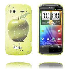 Fersk Fruit (Apple - Grønn) HTC Sensation Deksel