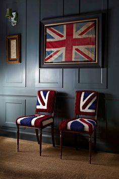 union jack furniture. Union Jack Chairs Dunnigan - These Would Look Good In Your Future House :) Union Jack Furniture