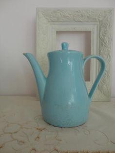 Vintage Krüge - Waku Kanne in pastellblau - ein Designerstück von Mokinas bei DaWanda 15,-- verfärbt