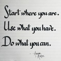 #calligraphy #calligrapher #moderncalligraphy #teamscribebynight #lettering #handlettering #fonts #writing #handwriting #quote #quotes #wisdom #startsmall #inkandnib #ink #freehand #letteringleague #justwriteit #workhardplayhard #keepwriting #penmanship