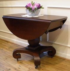 Drop Leaf Tables Beautiful Space Savers