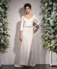 193636879b0 Love this 3 4 length sleeved beauty by  stewart parvin. So chic and elegant