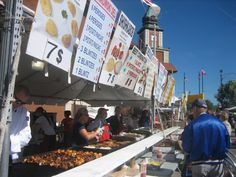 Taste of Polonia - The Taste of Polonia is a Chicago festival held at the Copernicus Cultural and Civic Center in the Jefferson Park community area of Chicago in Cook County, Illinois, United States every Labor Day weekend since 1979. a four-day celebration of Polish cultural heritage, traditions, and customs. The Taste of Polonia features delicious Polish cuisine, entertainment on three stages, as well as numerous Polish handcrafters and artisans. Jefferson Park, Cook County, Labour Day Weekend, Illinois, Times Square, Celebration, Chicago, United States, Entertainment
