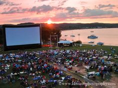 """This is commonly referred to as """"The open space"""" in Traverse City, Michigan.  It is a great place to chill or take a walk or watch a movie :)."""