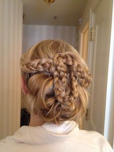 Country Braided UpDo.