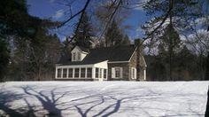Eleanor Roosevelt's cottage Val-Kill, Hyde Park New York.