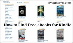 How to Find Free eBooks for Kindle on Amazon - Premeditated Leftovers