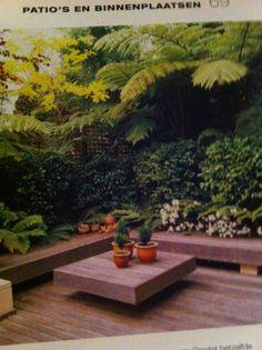 Patio, kleine tuin grote ideeën