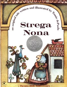 Get reading with Strega Nona | We're donating 10,000 dollars to The Heart of America Foundation | Show your love for reading on The Gift of Giving board by liking and repinning your favorite children's books!