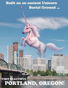Portland, Oregon #pdx #portland #unicorn