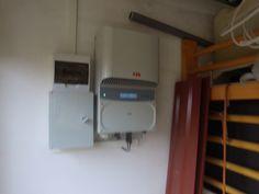 it is a solar (photovoltaic) napelem inverter. ABB inverter.