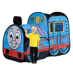 Thomas the Train pop train! Thomas Birthday Parties, Thomas The Train Birthday Party, Trains Birthday Party, Train Party, Twin Birthday, Friend Birthday, Birthday Party Themes, Birthday Ideas, Car Party