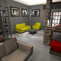 consigli d'arredo: lo stile metropolitano   loft in stile urban ... - Soggiorno Urban Chic 2