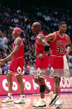 Dennis Rodman, Michael Jordan, and Scottie Pippen of the Chicago. Ar Jordan, Jordan Jersey, Jordan Bulls, Jordan Retro, Chicago Bulls, Nba Bulls, Scottie Pippen, Dennis Rodman, Nba Pictures