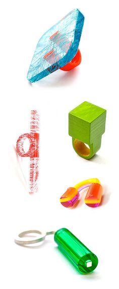 TheCarrotbox.com modern jewellery blog : obsessed with rings // feed your fingers!: Diederick Van Hovell