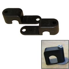 """Weld Mount Single Poly Clamp f-1-4"""" x 20 Studs - 1-2"""" OD - Requires 1.5"""" Stud - Qty. 25"""