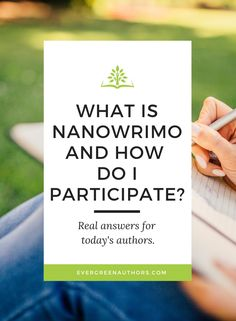Book marketing Q and A: What is NaNoWriMo and how do I participate? Find the answer in our weekly blog for authors! #nanowrimo #amwriting