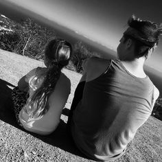 Brooklyn Beckham with little sister Harper on a hiking trip. via Instagram