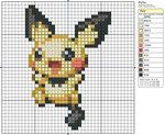 172 - Pichu II by *Makibird-Stitching on deviantART