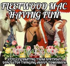 Fleetwood Mac having fun