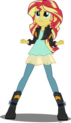 sunset shimmer new outfit - Google Search
