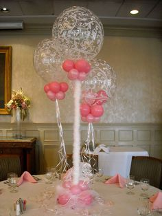 29 best simple balloon centerpieces images balloon centerpieces rh pinterest com