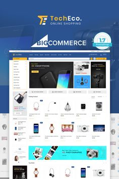 TechEco - BigCommerce Theme is a modern, clean and professional BigCommerce theme is fully responsive, it looks stunning on all types of screens and devices. TechEco - BigCommerce Theme it was built with Stencil Framework with wonderful features like slider,wishlist,quickview,currency. Hope you will have a fresh experience with TechEco - BigCommerce Theme!