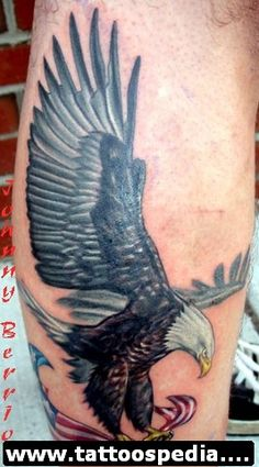Eagle Tattoos 1 - http://tattoospedia.com/eagle-tattoos-1/