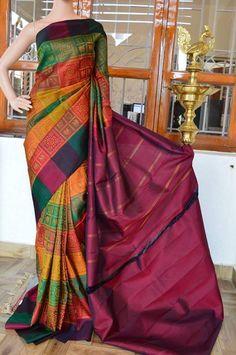 Are you searching for quality Elegant Design Indian Saree like Elegant Designer Saree also Latest Elegant Designer Sari Blouse then Click VISIT link for more details indianfashion Simple Sarees, Trendy Sarees, Stylish Sarees, Kanjivaram Sarees, Kanchipuram Saree, Saree Blouse Patterns, Saree Blouse Designs, Pakistani Outfits, Indian Outfits