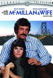 McMillan & Wife McMillan and Wife, Starring Rock Hudson and Susan Saint James, the series took place in San Francisco. Rock Hudson was the Commissioner, and Susan Saint James was his crime solving wife. 70s Tv Shows, Old Shows, Great Tv Shows, Mejores Series Tv, Detective Shows, Plus Tv, Tv Detectives, Vintage Television, Daddy