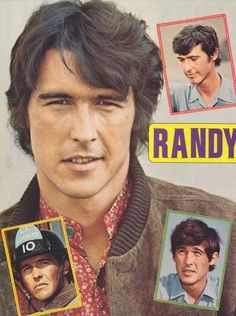 Randy Mantooth (I actually had this on my bedroom wall!)
