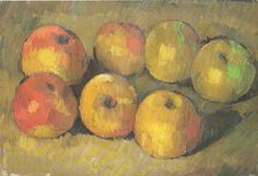 Cezanne Still Life with apples