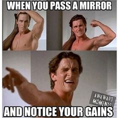 I've seen many doing this hahaha. Have you been caught doing this?   #tfw #thefitnesswolf #fitness #health #gains #lol #funny