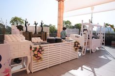 Picture from Point Black Events Photo Gallery on WedMeGood. Browse more such photos & get inspiration for your wedding Carnival Themes, Party Themes, Flower Chandelier, White Curtains, Outdoor Furniture Sets, Outdoor Decor, Ahmedabad, Staying Organized, Porch Swing